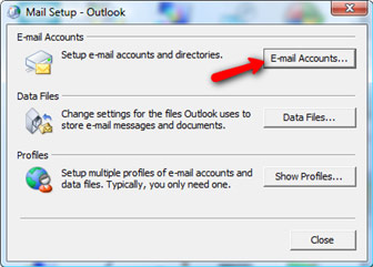 Setting up Microsoft Exchange Email Account in Outlook 2007 Step 4