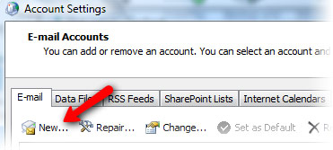 Setting up Microsoft Exchange Email Account in Outlook Step 5