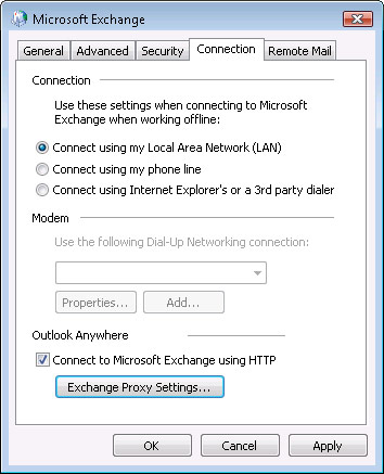 Setting up Microsoft Exchange Email Account in Outlook Step 14